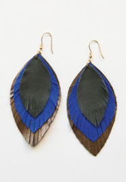 EA119WF-Feathered-Fringe-Earrings-Cobalt-s